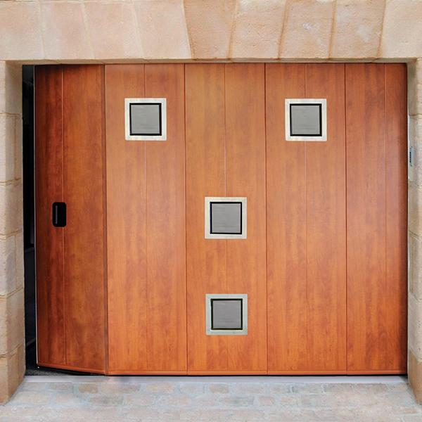 porta de serviço lateral