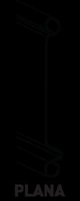 lâmina plana